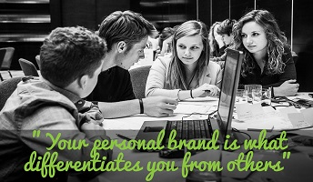 Personal branding in social media for entering today's world of work